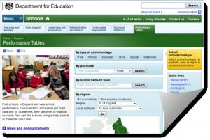 DfE compare schools